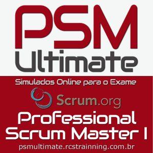 PSM Ultimate Simulados Professional Scrum Master Certificação PSM I