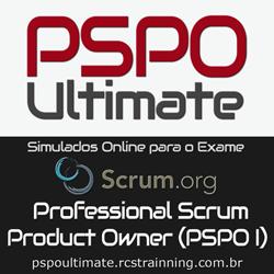 PSPO Ultimate Simulados Scrum Product Owner Certificação PSPO I